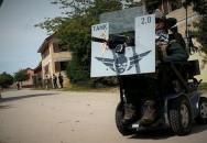 AirSoft s handicapem? Borec na vozíku a jeho projekt TANK