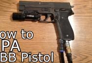 HPA Pistole s elektrickým dotáčením zásobníku DIY