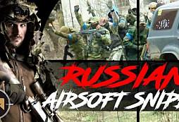 Marty airsoft - Ruský Sniper
