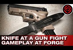Glock 23 + Knife