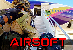 AIRSOFT AIRPLANE HOSTAGE RESCUE