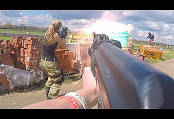Krátký akční film z pohledu 1. osoby s AS - 2. část