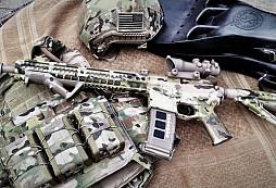 Nástřik zbraně Multicam